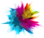 Lago Color Run Logo